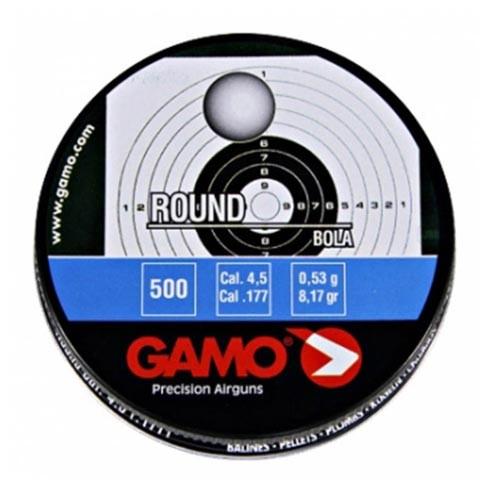 Пули пневматические GAMO Round 4,5 мм 0,53 грамма