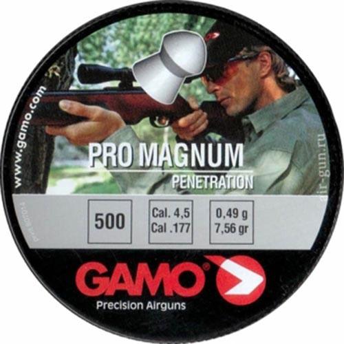 Пули пневматические GAMO Pro Magnum 4,5 мм 0,49 грамма (500 шт.)