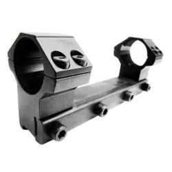Кронштейн моноблок с кольцами 25.4 мм на планку 11-12 мм, с упором