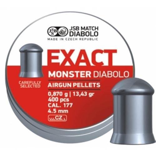 Пули пневматические EXACT Monster Diabolo 4,5 мм 0,87 гр