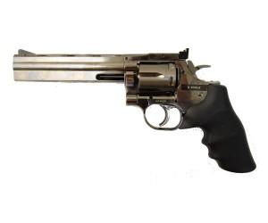 Пневматический револьвер ASG Dan Wesson 715-6 Steel Grey