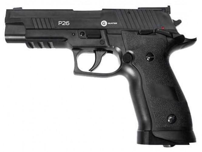Пневматический пистолет Gunter P26 4,5 мм