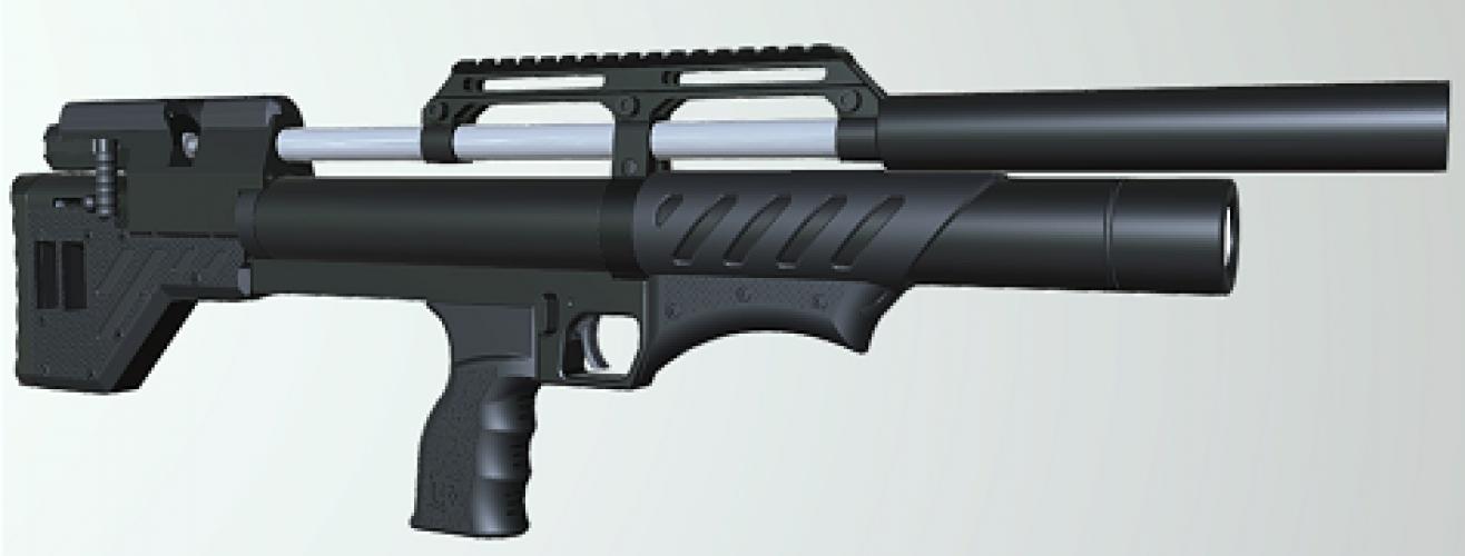 Крюгер Снайпер буллпап  6.35 мм.