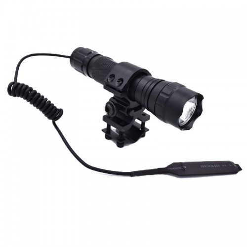 1 режим тактический фонарик 3800 люмен