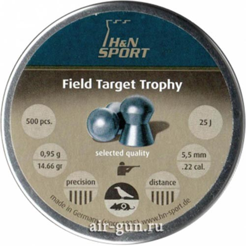 Пули пневматические Н&N Field Target Trophy