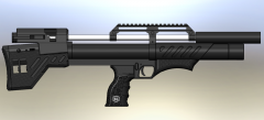 Снайпер буллпап  5.5 - 6.35 мм.