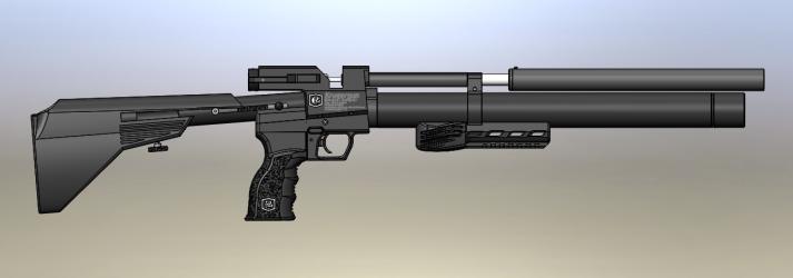 Пневматическая винтовка Снайпер 5,5