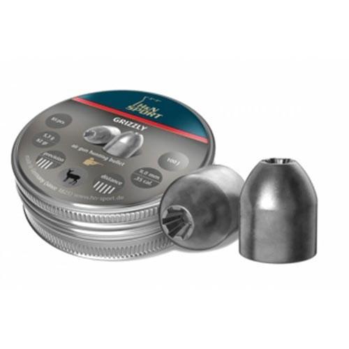 Пули пневматические H&N Grizzly 6,35 мм 2,02 грамма (150 шт.)
