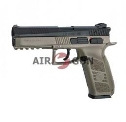 Пистолет ASG CZ P-09 Flat Dark Earth 6 мм