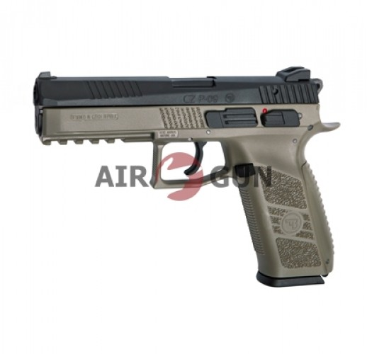 Пистолет ASG CZ P-09 Flat Dark Earth 6 мм