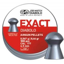 Пули пневматические EXACT Diabolo 4,5 мм 0,547 гр