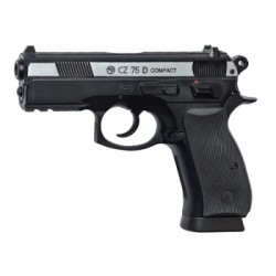 Пистолет ASG CZ 75D Compact, CO2, blowback