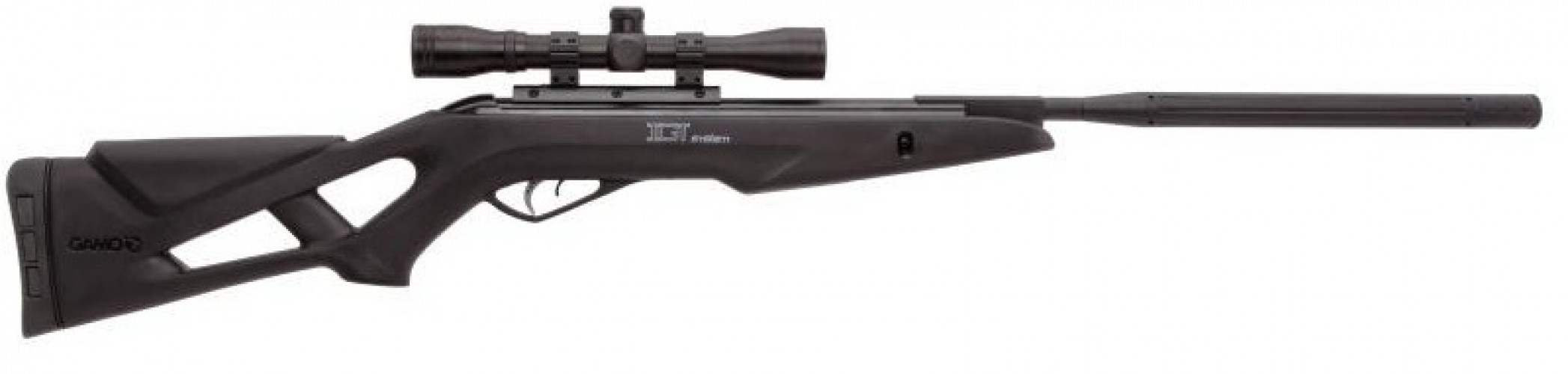 Пневматическая винтовка Gamo Bull Whisper F 4,5 мм