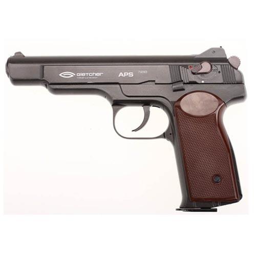 Пневматический пистолет Gletcher APS Стечкина (АПС)