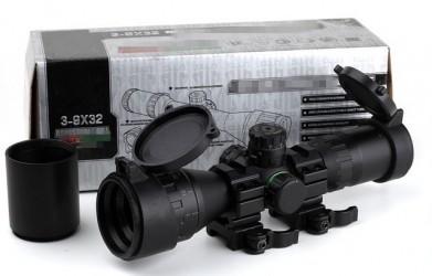 Оптический прицел Leapers  CQB Buster 3-9X32 AOE RGB