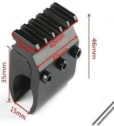 20 мм Вивер Пикатинни База адаптер