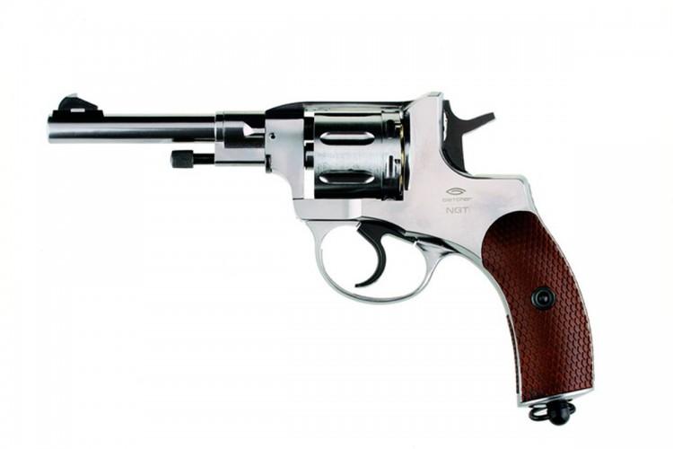 Пневматический пистолет Gletcher NGT F Silver 4,5 мм