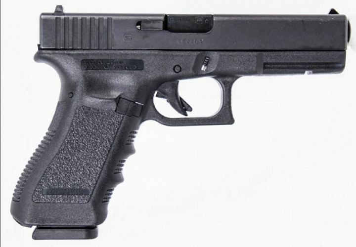 Оружие списанное охолощенное Glock 17  9 мм P.A.K